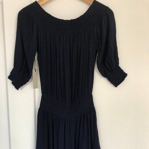NWT Navy Aritzia/Sunday Best Jocasta dress